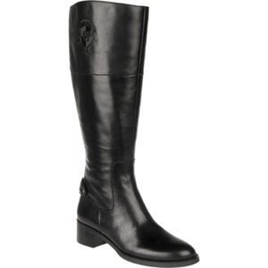 Black Etienne Aigner Women's Costa Riding Boots